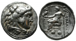 Kings of Macedon. Alexander III 'the Great'. 336-323 BC. AR Tetradrachm (27mm, 17.02g). Ake mint. Dated CY 31 (316/5 BC). Head of Herakles right, wear...