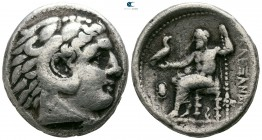 Kings of Macedon. Pella. Kassander 306-297 BC. As regent, 317-305 BC. In the name and types of Alexander III. Struck circa 317/6-315/4 BC. Tetradrachm...