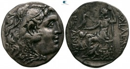 Thrace. Mesembria. In the name and types of Alexander III of Macedon circa 175-125 BC. Tetradrachm AR