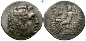 Thrace. Mesembria. In the name and types of Alexander III of Macedon 125-65 BC. Tetradrachm AR