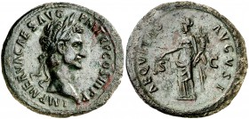 (97 d.C.). Nerva. As. (Spink 3060) (Co. 7) (RIC. 77). 11,70 g. EBC/EBC-.
