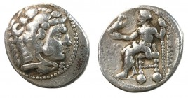 Kings of Macedonia, Alexander III, The Great, 336 - 323 BC, Silver Tetradrachm, Tyre Mint