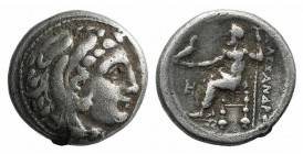 Kings of Macedon, Philip III, 323 - 317 BC, Silver Drachm, Miletos Mint
