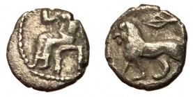 Persia, Alexandrine Empire, 328 - 311 BC, Unpublished Silver Obol
