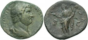 Hadrian, 117 - 138 AD, AE As, Felicitas