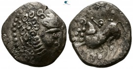 Eastern Europe. Mint in Serbia. Imitations of Philip II of Macedon circa 200-100 BC. Tetradrachm AR