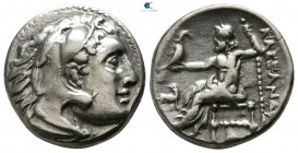 "Kings of Macedon. Abydos. Alexander III ""the Great"" 336-323 BC. Struck 310-301 BC. Drachm AR"