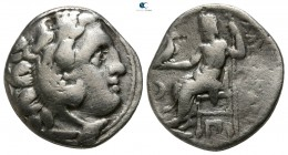 "Kings of Macedon. Kolophon. Alexander III ""the Great"" 336-323 BC. Struck circa 310-301 BC. Drachm AR"