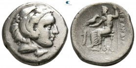 "Kings of Macedon. Lampsakos. Alexander III ""the Great"" 336-323 BC. Lifetime issue, struck circa 328-323 BC. Drachm AR"
