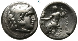 "Kings of Macedon. Miletos. Alexander III ""the Great"" 336-323 BC. Struck circa 300-295 BC. Drachm AR"