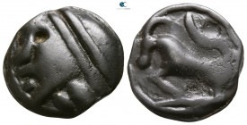 Gaul. The Sequani circa 70-50 BC. Cast Potin