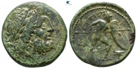 Bruttium. The Brettii 211-208 BC. Unit Æ