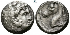 Sicily. Entella 300-289 BC. Tetradrachm AR