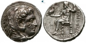 Kings of Macedon. Babylon. Philip III Arrhidaeus 323-317 BC. In the types of Alexander III. Struck under Archon, Dokimos, or Seleukos I, circa 323-318...