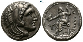 "Kings of Macedon. 'Amphipolis'. Alexander III ""the Great"" 336-323 BC. Struck circa 336-323 BC. Tetradrachm AR"