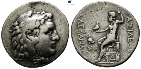 "Kings of Macedon. Mesembria. Alexander III ""the Great"" 336-323 BC. Struck 175-125 BC. Tetradrachm AR"