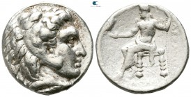 "Kings of Macedon. Uncertain mint in Asia Minor or Babylon. Alexander III ""the Great"" 336-323 BC. Tetradrachm AR"