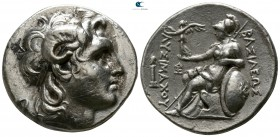 Kings of Thrace. Lampsakos. Lysimachos 305-281 BC. Struck 297/6-282/1 BC. Tetradrachm AR