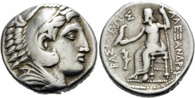 KINGS OF MACEDON. Alexander III 'the Great', 336-323 BC. Tetradrachm (Silver, 25 mm, 16.99 g, 9 h), struck during the reign of Philip III by the Regen...