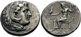KINGS OF MACEDON. Alexander III 'the Great', 336-323 BC. Dekadrachm (Silver, 33 mm, 39.70 g, 1 h), Babylon, circa 325-323. Head of Herakles to right, ...
