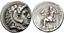KINGS OF MACEDON. Alexander III 'the Great', 336-323 BC. Tetradrachm (Silver, 28 mm, 17.06 g, 6 h), uncertain mint in Cilicia, possibly Side, c. 325-3...