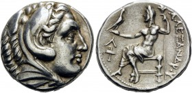 KINGS OF MACEDON. Alexander III 'the Great', 336-323 BC. Tetradrachm (Silver, 25 mm, 17.08 g, 2 h), struck during the reigns of Kassander and Demetriu...