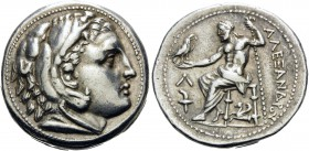 KINGS OF MACEDON. Alexander III 'the Great', 336-323 BC. Tetradrachm (Silver, 27.5 mm, 17.29 g, 9 h), struck during the reigns of Kassander and Demetr...