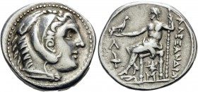 KINGS OF MACEDON. Alexander III 'the Great', 336-323 BC. Tetradrachm (Silver, 28 mm, 17.19 g, 10 h), struck during the reigns of Kassander and Demetri...