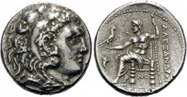 KINGS OF MACEDON. Alexander III 'the Great', 336-323 BC. Tetradrachm (Silver, 28 mm, 17.11 g, 11 h), struck during the reigns of Kassander and Demetri...