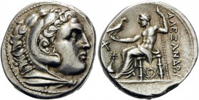 KINGS OF MACEDON. Alexander III 'the Great', 336-323 BC. Tetradrachm (Silver, 27 mm, 17.22 g, 4 h), struck during the reign of Kassander; or possibly ...