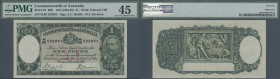 Australia: 1 Pound ND(1933-38) P. 22, condition: PMG graded 45 Choice XF.