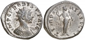 (281-282 d.C.). Probo. Antoniniano. (Spink 12049) (Co. 727) (RIC. 129). 4,41 g. MBC+.