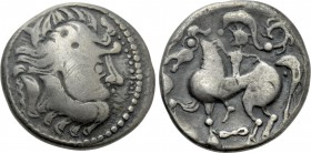 EASTERN EUROPE. Imitations of Philip II of Macedon (2nd-1st centuries BC). Tetradrachm. Kapostaler type.