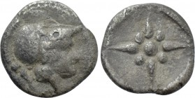 ASIA MINOR. Uncertain. Hemiobol (5th century BC).