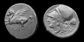 AKARNANIA, Anaktorion, c. 320-280 BCE, AR Stater. 8.31g, 21.5mm.