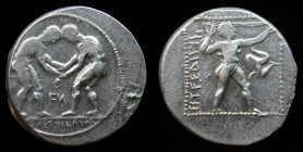 PAMPHYLIA, Aspendos, 380-325 BCE, AR Stater. 11.04g, 23mm.