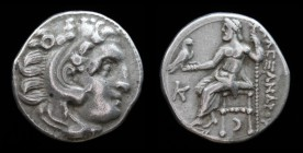 KINGS of MACEDON: Antigonos I Monophthalmos (320-301 BCE), AR Drachm, issued c. 310-301 BC. Kolophon, 4.29g, 17.5mm.