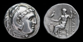 KINGS OF MACEDON: Alexander III 'the Great' (336-323 BC), issued c. 310-275 BCE, AR Drachm. Uncertain mint in Macedon or Greece, 4.19g, 17mm.