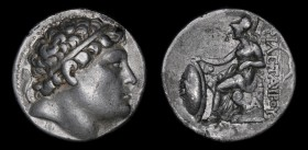 KINGS of PERGAMON: Eumenes I (263-241 BCE), AR Tetradrachm. 16.76g, 29mm.