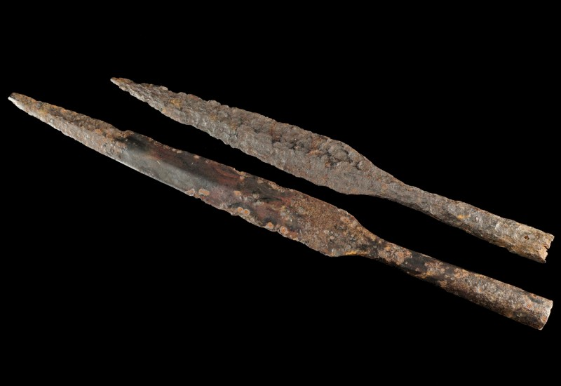 Celtic Iron Spearheads