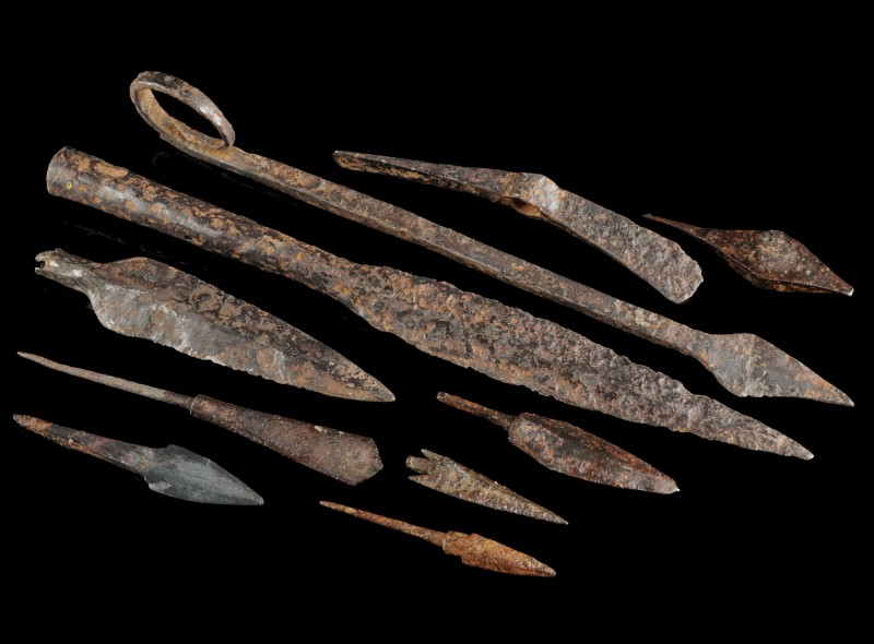 Iron Projectiles and Tools
