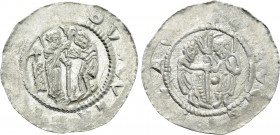 BOHEMIA. Ladislaus (Vladislav) II (As duke, 1140-1158). Denár.