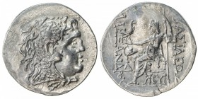 MESEMBRIA: ca. 175-125 BC, AR tetradrachm (16.59g), in the name of long-deceased Alexander III of Macedonia: head of Herakles right, wearing lion skin...
