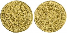 FATIMID: al-Mu'izz, 953-975, AV dinar (4.18g), Misr, AH365, A-697.1, Nicol-371, pleasing strike, well-centered, EF.