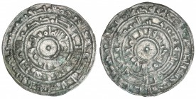 FATIMID: al-Mu'izz, 953-975, AR ½ dirham (1.42g), al-Mansuriya, AH356, A-699, Nicol-450, lovely VF.