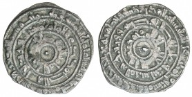 FATIMID: al-Mu'izz, 953-975, AR ½ dirham (1.45g), al-Mansuriya, AH358, A-699, Nicol-452, choice VF.