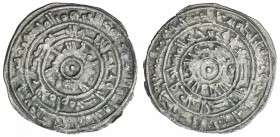 FATIMID: al-Mu'izz, 953-975, AR ½ dirham (1.44g), al-Mansuriya, AH359, A-699, Nicol-453, lovely strike, VF-EF.