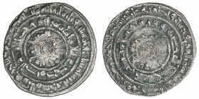 FATIMID: al-Mu'izz, 953-975, AR ½ dirham (1.46g), al-Mahdiya, AH356, A-699, Nicol-490, slight central weakness, VF.