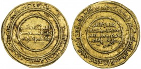 FATIMID: al-Mustansir, 1036-1094, AV dinar (4.18g), Misr, AH431, A-719.1, Nicol-2107, nice even strike, well-centered, VF.