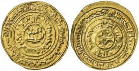 BURID: Abaq, 1140-1154, AV dinar (4.65g), Dimashq, AH534, A-A784, Abaq's name appears in the outer obverse margin, after the date formula, also citing...